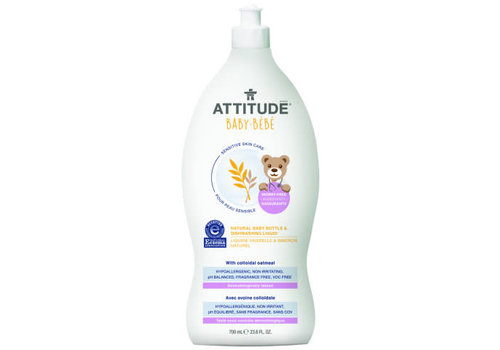 Attitude Sensitive Skin Natural Dishwashing Liquid