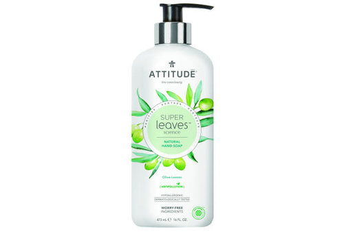 Attitude Super Leaves Hand soap Olive Leaves 475ml