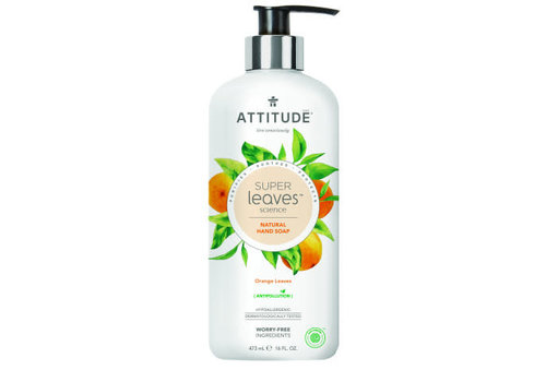 Attitude Super Leaves Handzeep Orange Leaves 475ml
