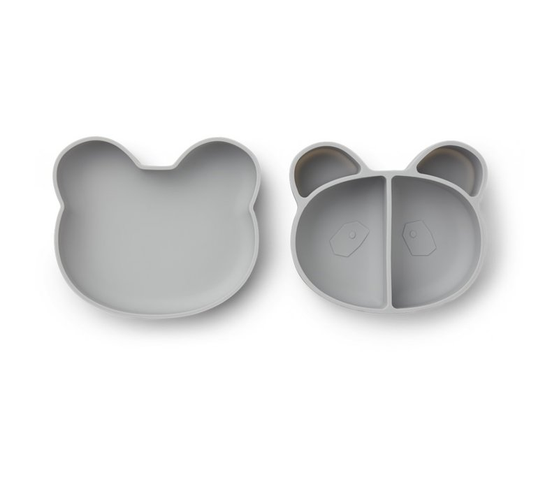 Lunchbox Vita Panda dumbo grey