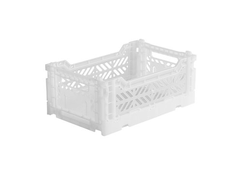 Aykasa Foldable crate mini white