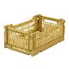 Aykasa Foldable crate mini gold