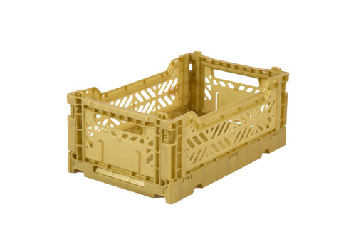 Aykasa Foldable crate mini gold