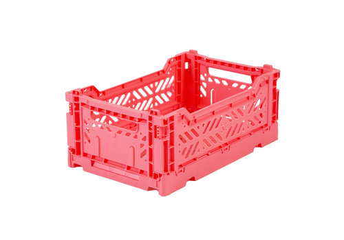 Aykasa Foldable crate mini dark pink