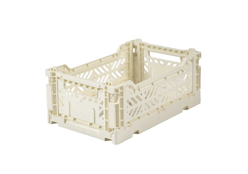 Aykasa Foldable crate mini cream