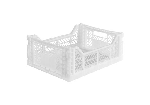 Aykasa Foldable crate midi white