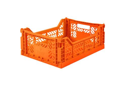 Aykasa Foldable crate midi orange