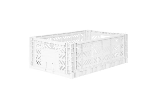 Aykasa Foldable crate maxi white