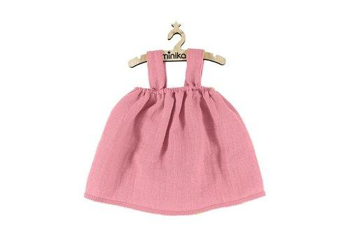 Minikane Dress double gauze rose