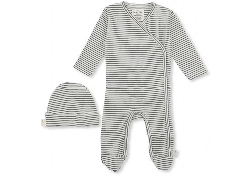 Konges Sløjd Dio newborn set ebony/ off-white