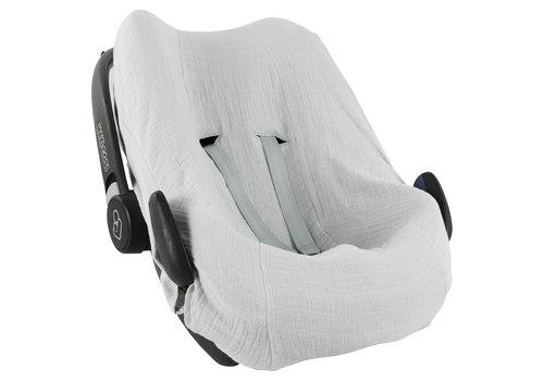 Les Rêves d'Anaïs Car seat cover Bliss grey