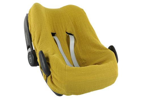 Les Rêves d'Anaïs Car seat cover Bliss mustard