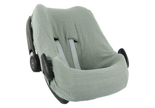 Les Rêves d'Anaïs Car seat cover Bliss olive