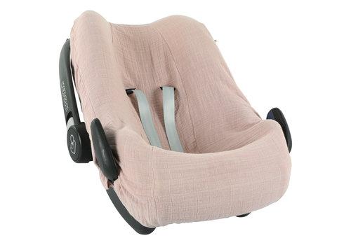 Les Rêves d'Anaïs Car seat cover Bliss rose