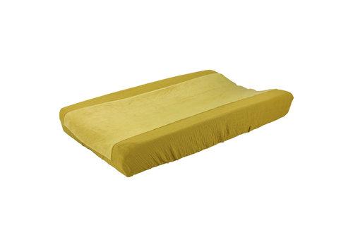Les Rêves d'Anaïs Changing pad cover 45x68cm Bliss mustard