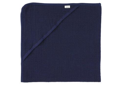 Les Rêves d'Anaïs Hooded towel 75x75cm Bliss blue