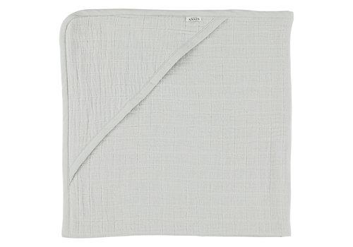 Les Rêves d'Anaïs Hooded towel 75x75cm Bliss grey