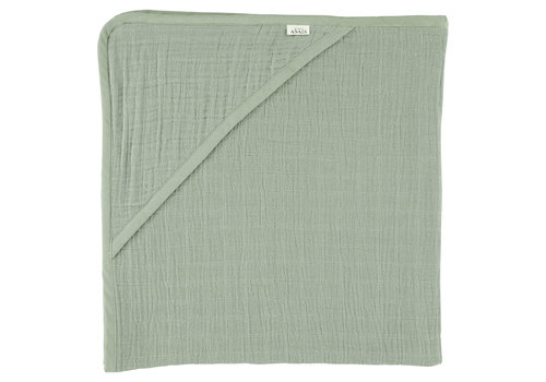 Trixie Hooded towel 75x75cm Bliss olive