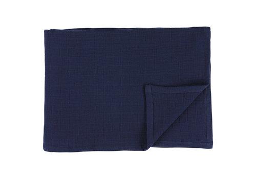 Les Rêves d'Anaïs Muslin cloths 110x110cm Bliss blue