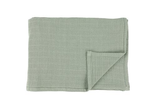 Les Rêves d'Anaïs Muslin cloths 110x110cm Bliss olive