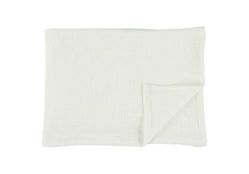 Les Rêves d'Anaïs Muslin cloths 110x110cm Bliss white