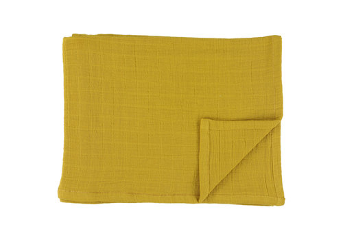 Les Rêves d'Anaïs Tetradoeken 55x55cm Bliss mustard