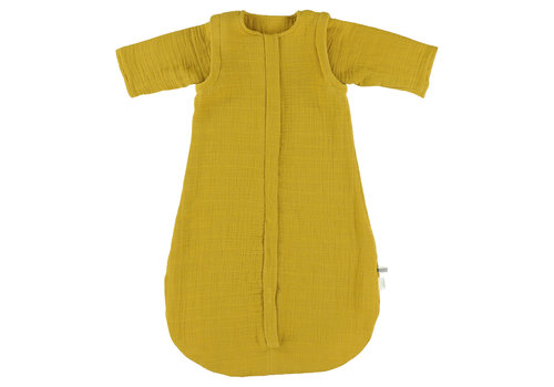 Les Rêves d'Anaïs Muslin sleeping bag Bliss mustard