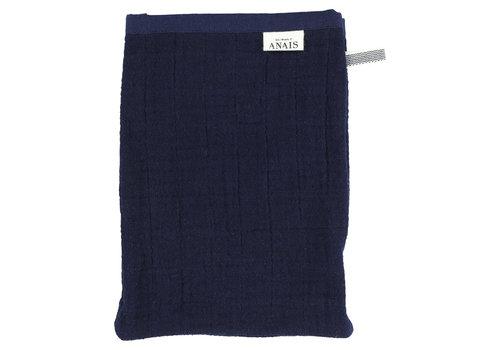Les Rêves d'Anaïs Muslin washcloths Bliss blue