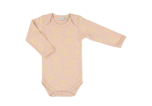 Trixie Baby Body long sleeves Lemon Squash