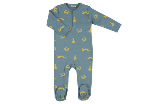 Trixie Baby Onesie with feet Whippy Weasel