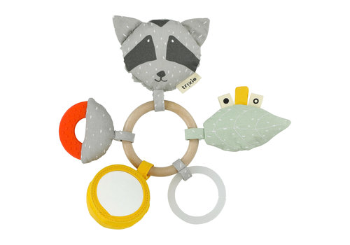 Trixie Baby Activity Ring Mr. Raccoon
