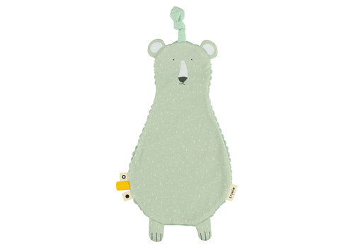 Trixie Baby Flat Pacifier Cuddle Mr. Polar Bear