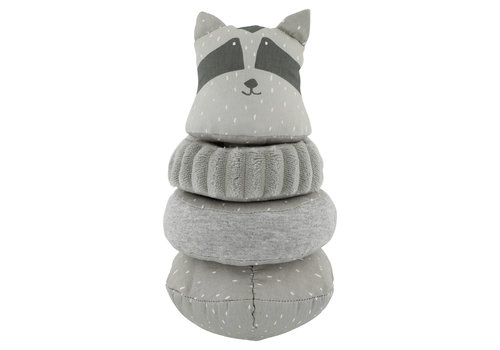 Trixie Baby Wobbly Stacking Animal Mr. Raccoon