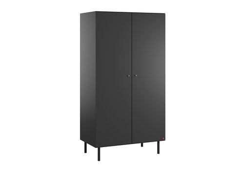 Vox CUTE 2-door wardrobe black