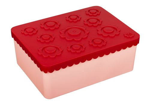 Blafre Brooddoos groot red/pink