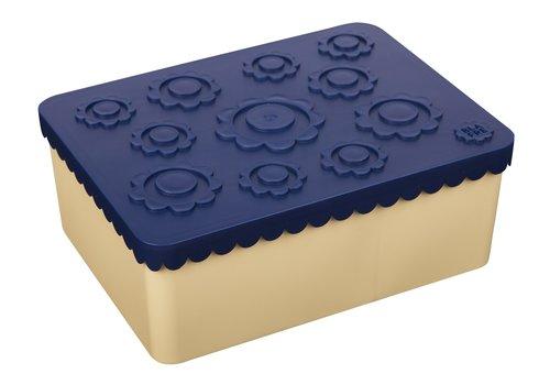 Blafre lunch box navy/beige