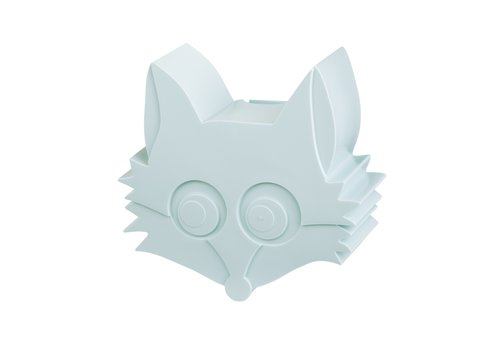 Blafre Snack box fox light blue