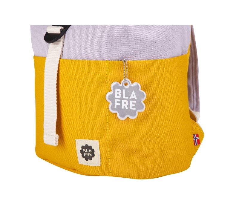 Roll-top rugzak 1-4j yellow/light purple