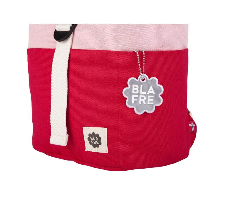 Roll-top backpack 1-4y red/pink