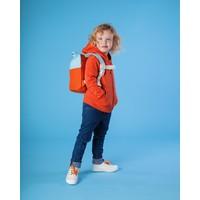 Roll-top rugzak 1-4j orange/light blue
