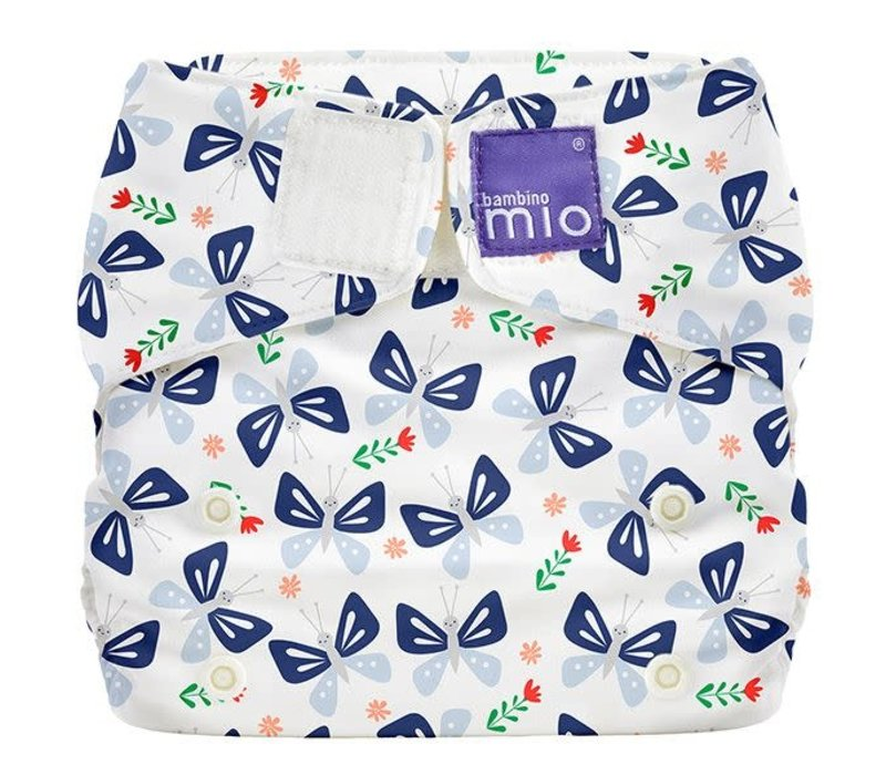 MIOSOLO all-in-one reusable nappy butterfly bloom