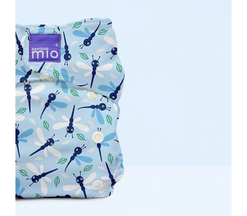 MIOSOLO all-in-one reusable nappy dragonfly daze