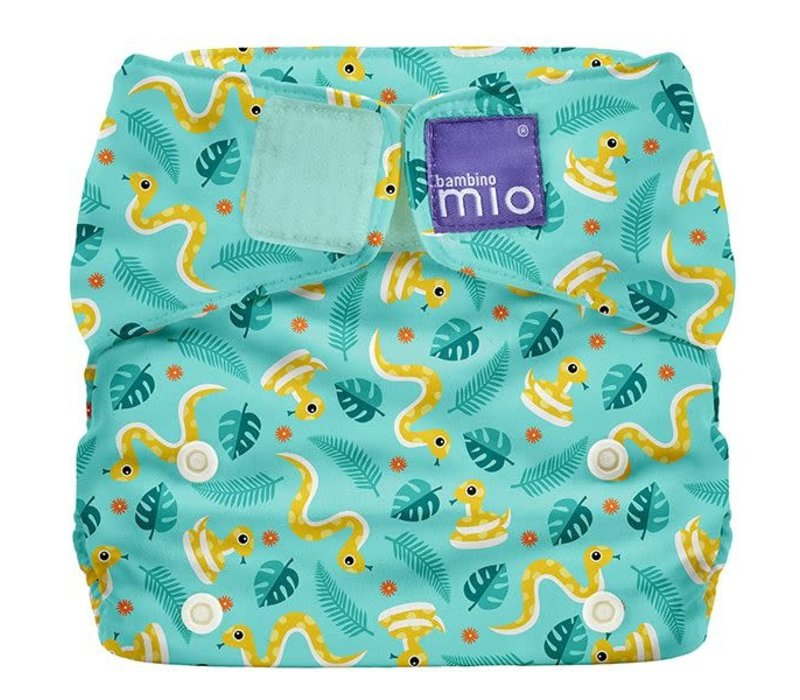 MIOSOLO all-in-one reusable nappy jungle snake