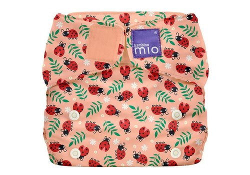 Bambino Mio MIOSOLO all-in-one wasbare luier loveable ladybug