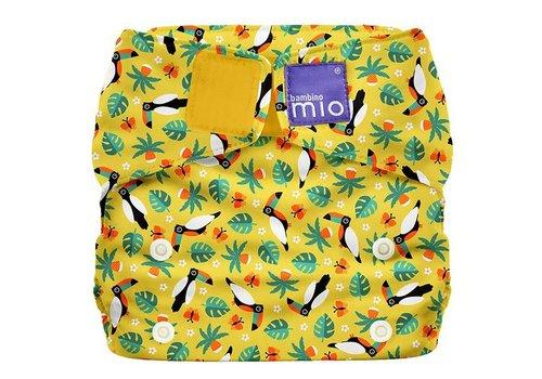 Bambino Mio MIOSOLO all-in-one reusable nappy tropical toucan