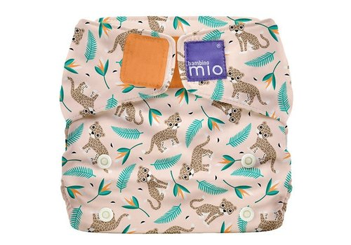 Bambino Mio MIOSOLO all-in-one reusable nappy wild cat