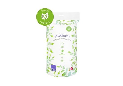Bambino Mio MIOLINERS biodegradable nappy liners 160 pack