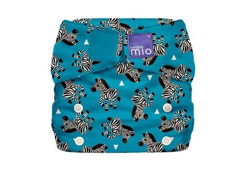 Bambino Mio MIOSOLO all-in-one reusable nappy zebra crossing