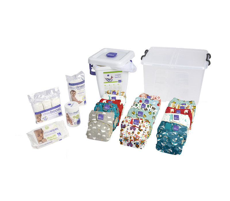 MIOSOLO premium birth to potty pack mix