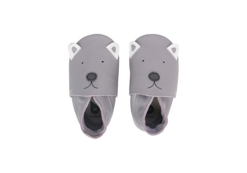 Bobux Soft Soles Gull grey woof